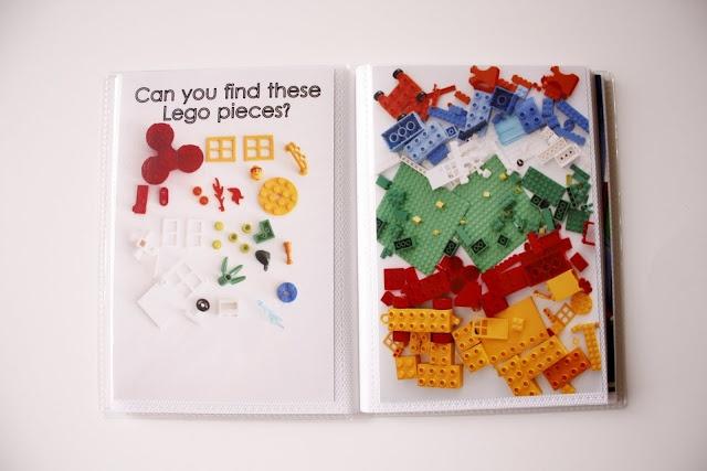 delia creates: Rainbow...DIY I Spy Books