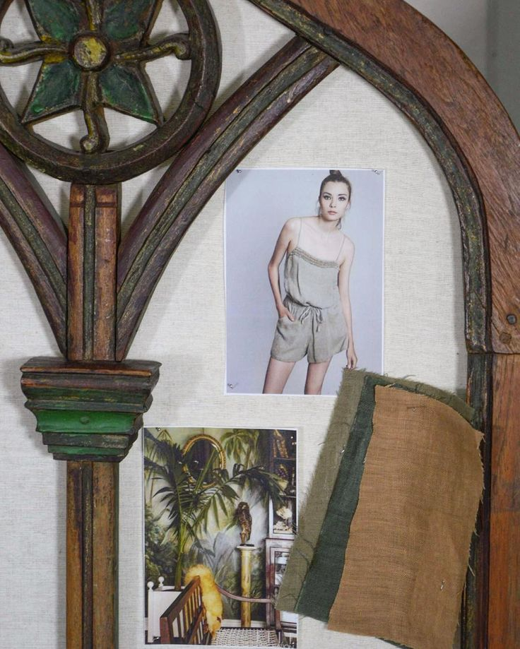 SS16 Moodboard n.4 #safari #travelling #linen #moodboard #woman #outfit #fashion…
