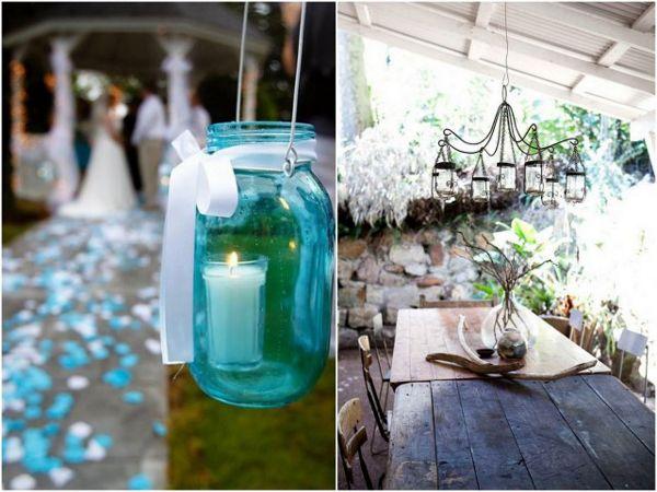 Wedding Ideas Using Mason Jars: 17 Best Images About DIY Wedding Mason Jars On Pinterest