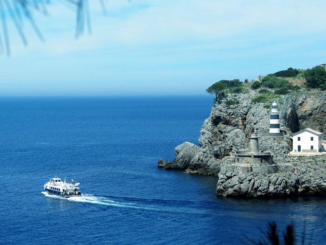Vandring på Mallorca 2013. Vacker utsikt från Refugi de Muleta. #walking #hiking #mallorca #soller #portosoller