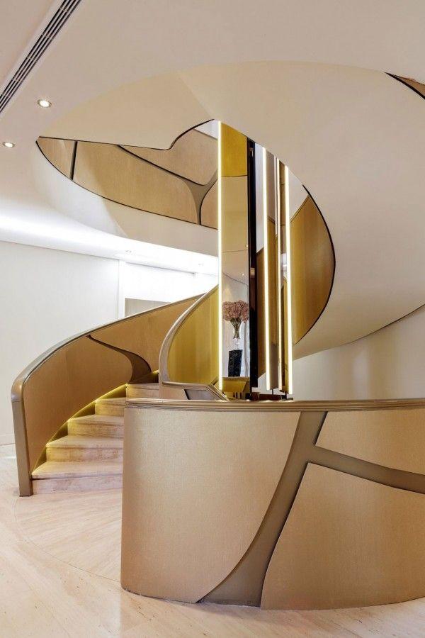 188 best escalier images on Pinterest Stairways, Ladder and Staircases - escalier interieur de villa