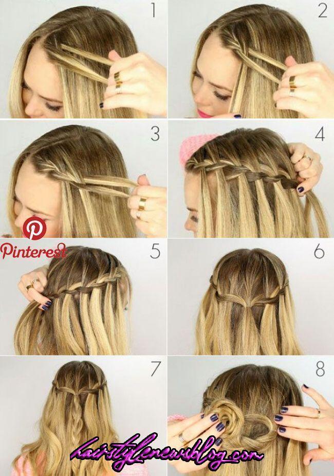 Zopfwasserfall flechten crochet hair styles short - Crochet Hair Styles #Hair #styles #CrochetHairStyles in 2020 | Braided hairstyles, Long hair styl « Hair Blog