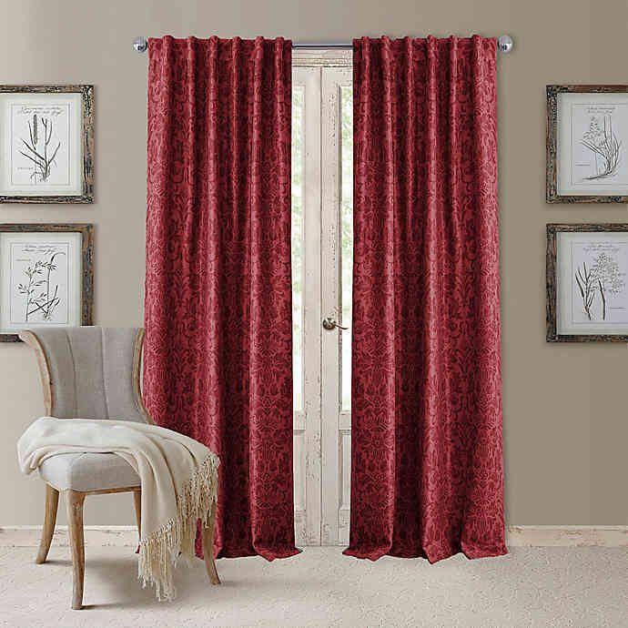 Antonia Rod Pocket Back Tab Room Darkening Window Curtain Panel