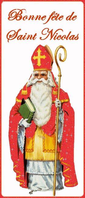 Cybercarte Bonne fête de Saint Nicolas