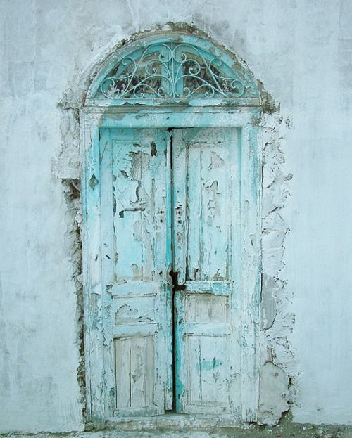 Faded turquoise