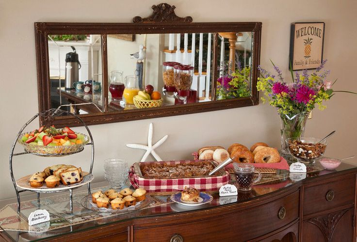 Nice Continental Breakfast Looking Buffet Baby Shower Ideas Pinterest