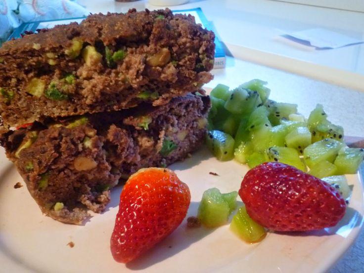 Bezglutenowe Śniadania według Patrycji K: 170. Bezglutenowe kokosowe awokado brownie