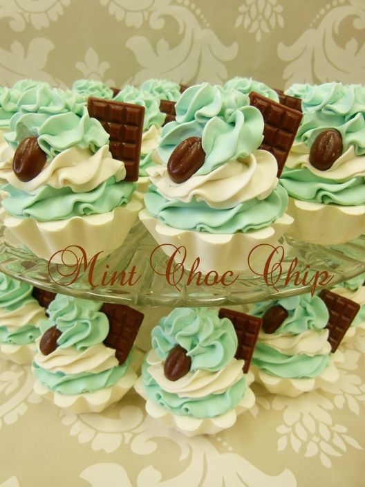 More soaps from Eden's Secret - I like the design but I'd do these in a diff color - scent combo than mint & chocolate chip. I know I've seen those coffee bean molds on Amazon!