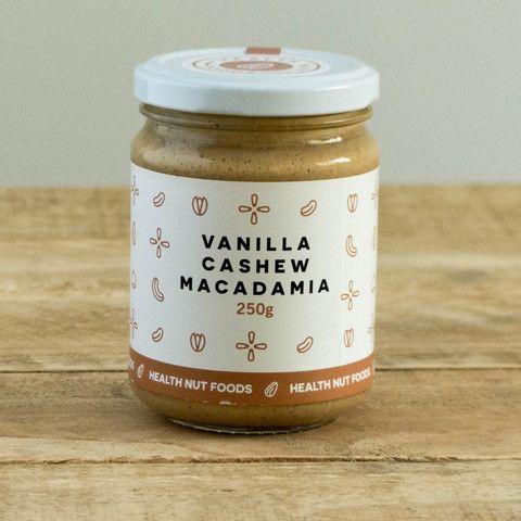 Vanilla Cashew Macadamia Nut Butter