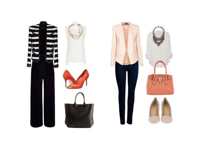 Combina una prenda m s formal accesorios y complementos - Accesorios oficina ...