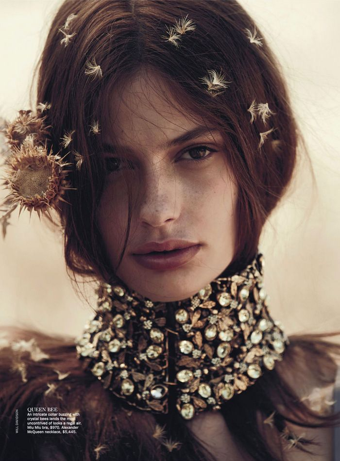 The Sweetest Thing: Vogue Australia April 2013