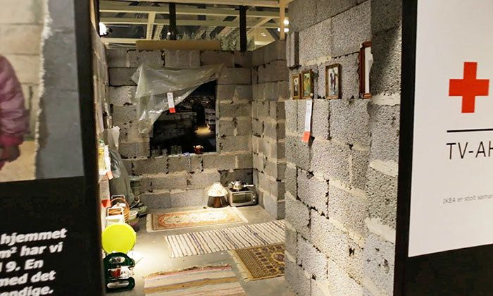 Gallery of IKEA Recreates Syrian Home Inside their Store in Efforts to Aid Refugee Crisis - 1