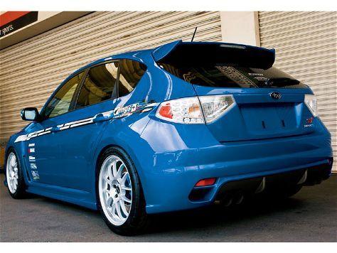 2008 Subaru Impreza STi #blue