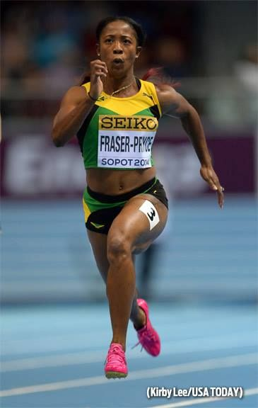 Shelly-Ann Fraser-Pryce proved once again she's the world's fastest woman. Watch her latest race here: