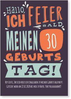 Einladung 30 Geburtstag, Geburtstag 40, Geburtstag Ideen, Einladung Ideen,  Party Einladung, Einladungskarten Geburtstag, 40 Jahre, Einladungen,  Geschenke