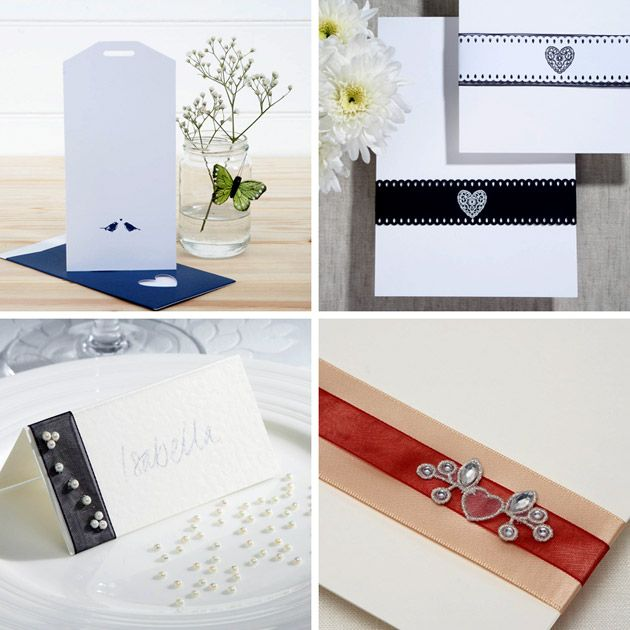 Create your own wedding stationery
