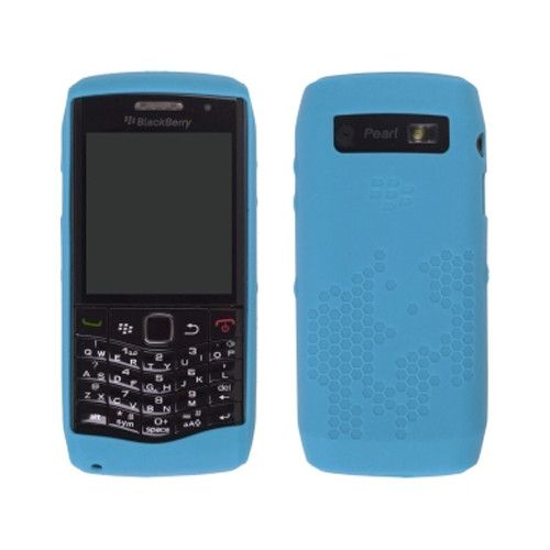 OEM BlackBerry Pearl 9100 Silicone Case Cover - BLUE