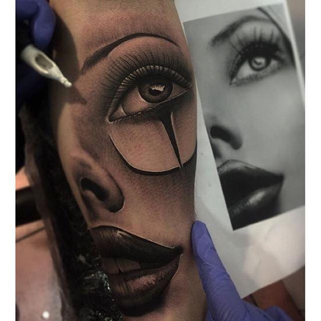 Amazing artist @samurico_tattoo Latina chicano tattoo! @proartists @sullenclothing @crazyytattoos ...