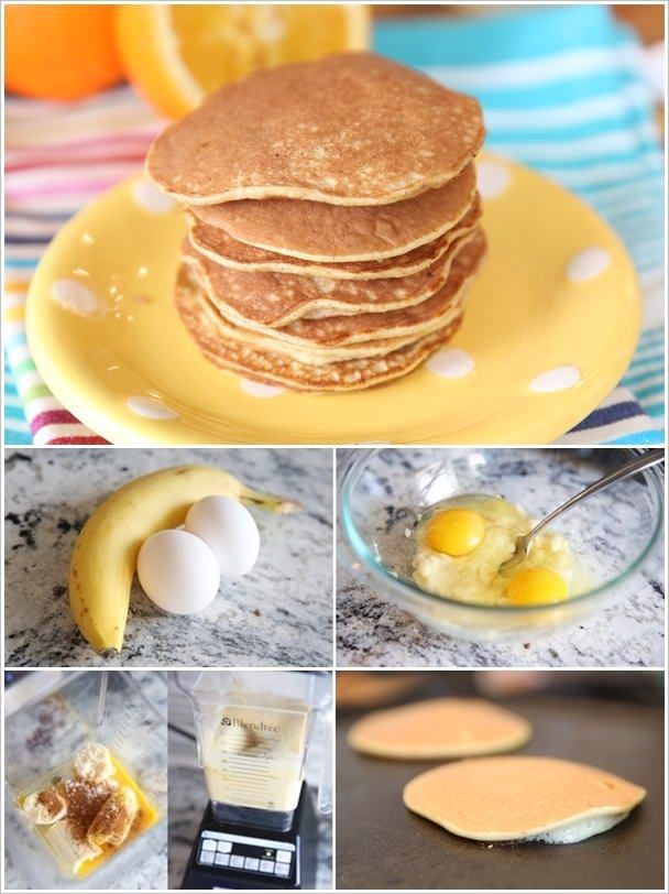 2 INGREDIENT PANCAKES - Weight Watchers Recipes