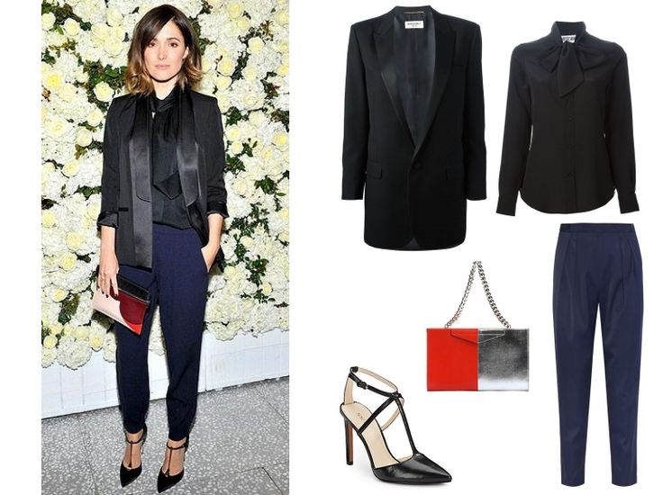 Silky separates can create a very sophisticated night/event look.