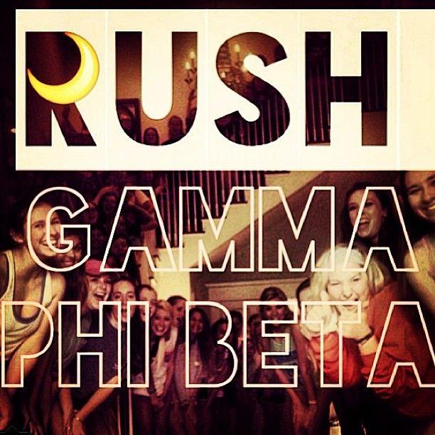 Rush Gamma Phi Beta