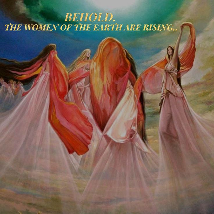 Behold. The Women of the Earth are rising.. WILD WOMAN SISTERHOOD™…