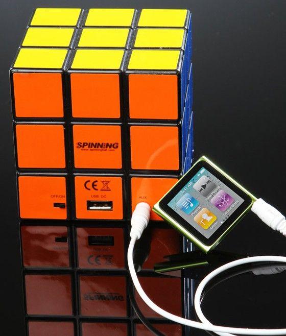 Rubik's Cube Speaker!! I want thissss!!!
