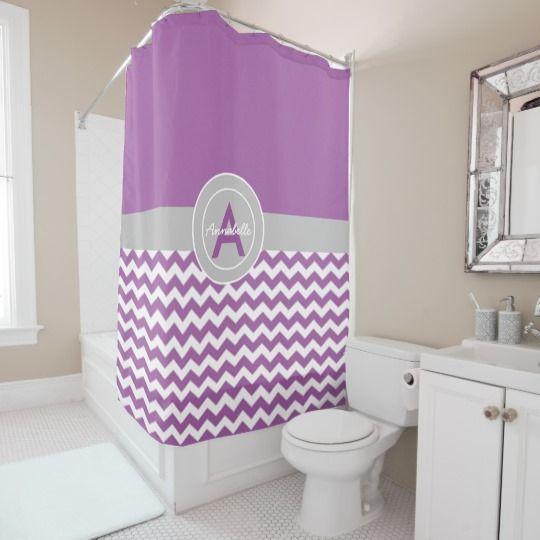 Best 25 purple shower curtains ideas on pinterest for Purple ombre shower curtain