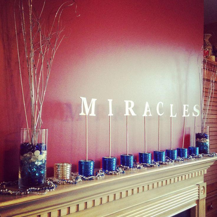 Miracles-Hanukkah Decor