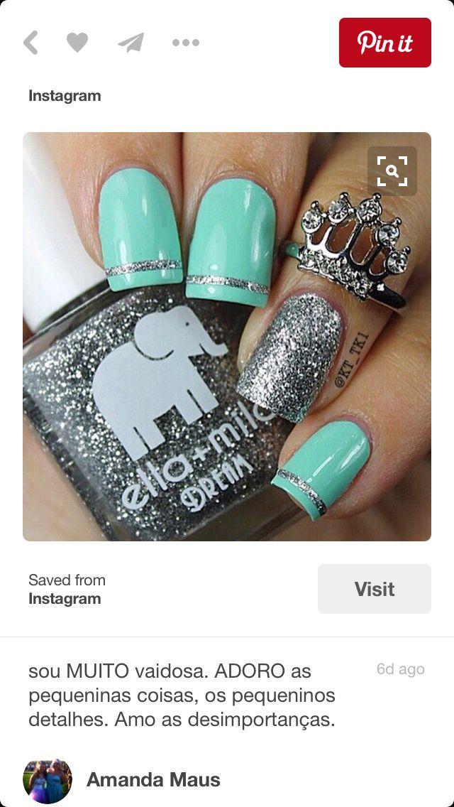 238 best Nails to Get images on Pinterest | Nail design, Gel nails ...