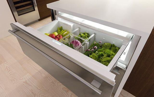 Kompaktowe AGD do niewielkiej kuchni - nowoczesne kuchnie. Fot. SUB-ZERO
