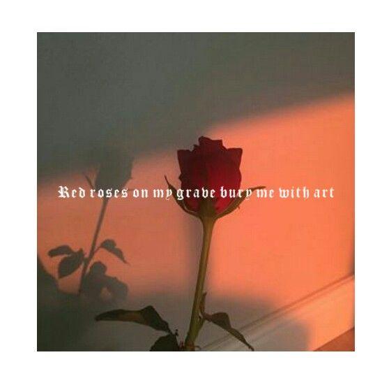 lil skies red roses