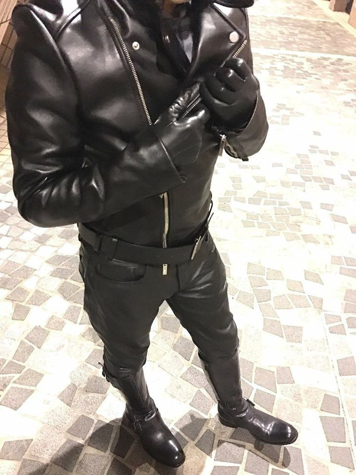 Fetish Lover Leather Fashion, Leather Men, Leather Gloves, Leather Pants,  Leather Jackets
