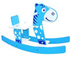 Gangorra Cavalinho Azul
