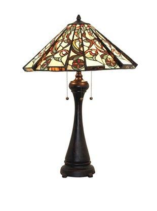 60% OFF Legacy Lighting Calypso Table Lamp, Crimson Noir