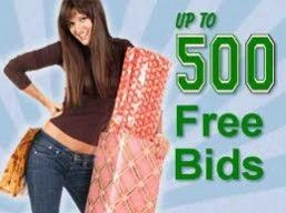 500 Free Bid Giveaway to Use in Penny Auction Site