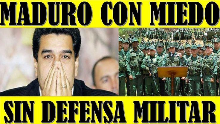 ultima hora VENEZUELA EEUU 18 FEBRERO 2018  MADURO con Miedo por Quedarse sin DEFENSA MILITAR