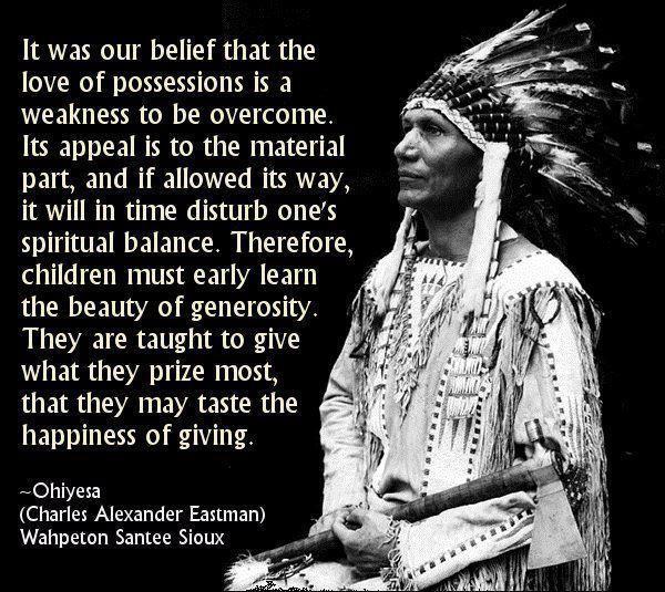 Ohiyesa's wisdom. So so wise.