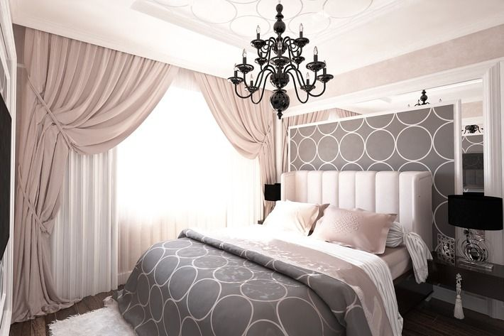 Проект: Спальня в современном ар-деко — Million Rooms — MyHome.ru