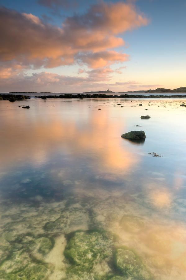 ✯ Dunstanburgh Castle Reflections