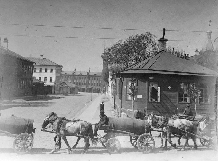 Moscow. Pre-revolutionary Russia.