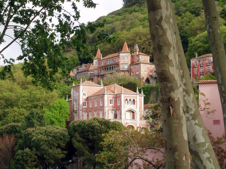 Designed by Possidónio da Silva, this 19th century palace was built on the site of an old monastery. With its mystical park of exotic plants, It's also the most well-known landmark in Sintra, a city in Portugal recognized by UNESCO.