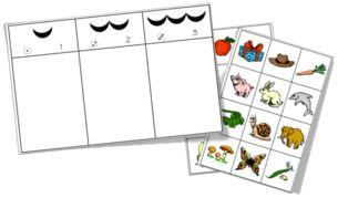Jeux - Phonologie - Dénombrer des syllabes - Dans ma boite à outils