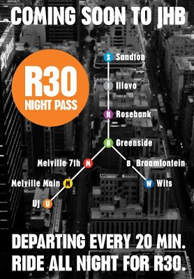 Night Bus: New bus service to connect Johannesburg's nightlife hotspots  #southafrica #johannesburg #backpacker