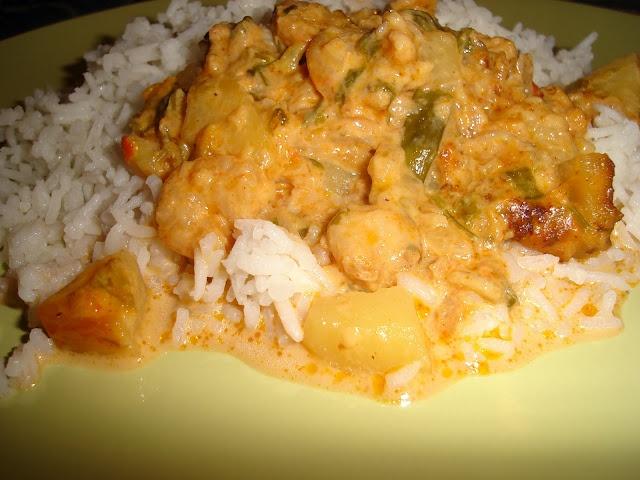 Cozinha do Amor: Camarão de Coco Cremoso