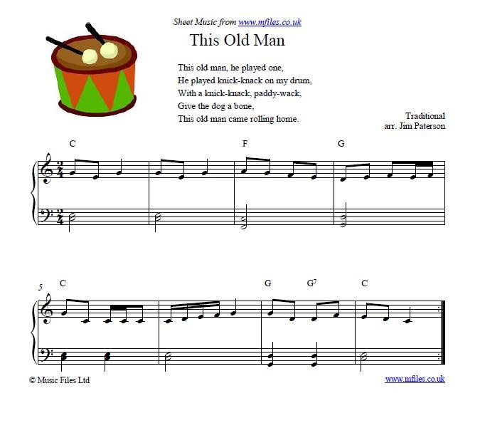 This Old Man Children S Song