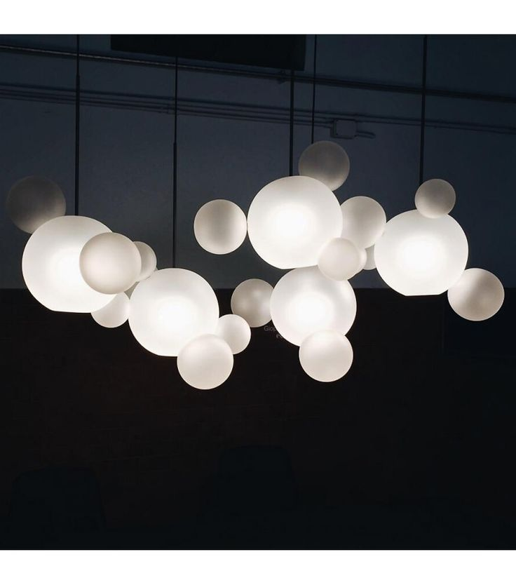 Bolle Giopato & Coombes Suspension Lamp