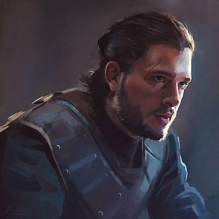 ArtStation - Jon Targaryen, Naseem K