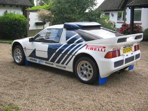 Ford RS200 EVO Group B For Sale (1986) //. & 33 best Ford RS200 images on Pinterest | Ford Ford rs and Group markmcfarlin.com