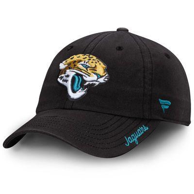 Jacksonville Jaguars NFL Pro Line Women's Fundamental Adjustable Hat - Black
